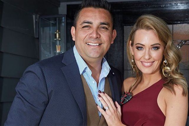 The Block's Ronnie and Georgia sign deal with Channel Nine