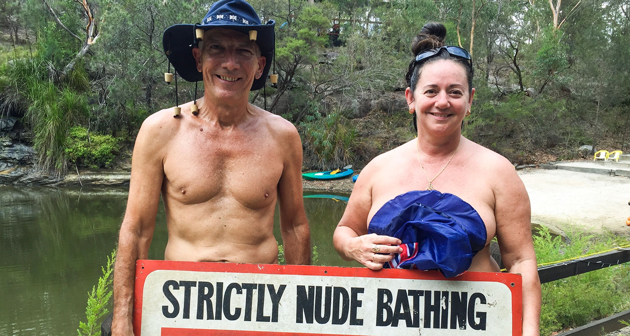 granny beach nudist Get naked or get lost: A day at Gunnison, Jersey's only ...