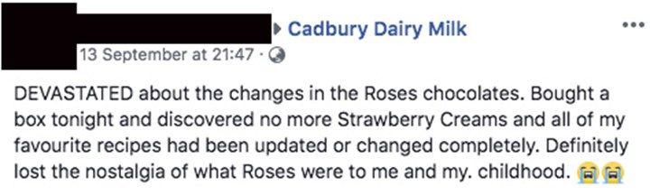 Social media slams new Cadbury Roses chocolate flavour