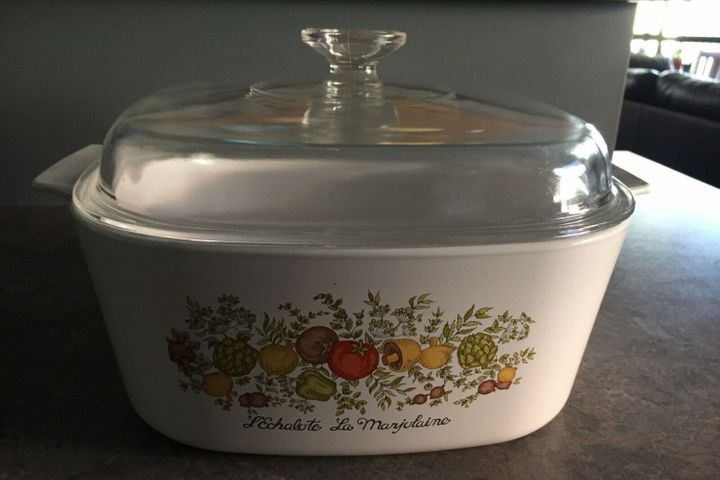 Your old CorningWare dishes from the 1970s could be worth