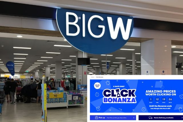 Big W has launched a HUGE flash sale - days after revealing