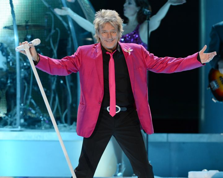 How many children does Rod Stewart have? Their names, ages