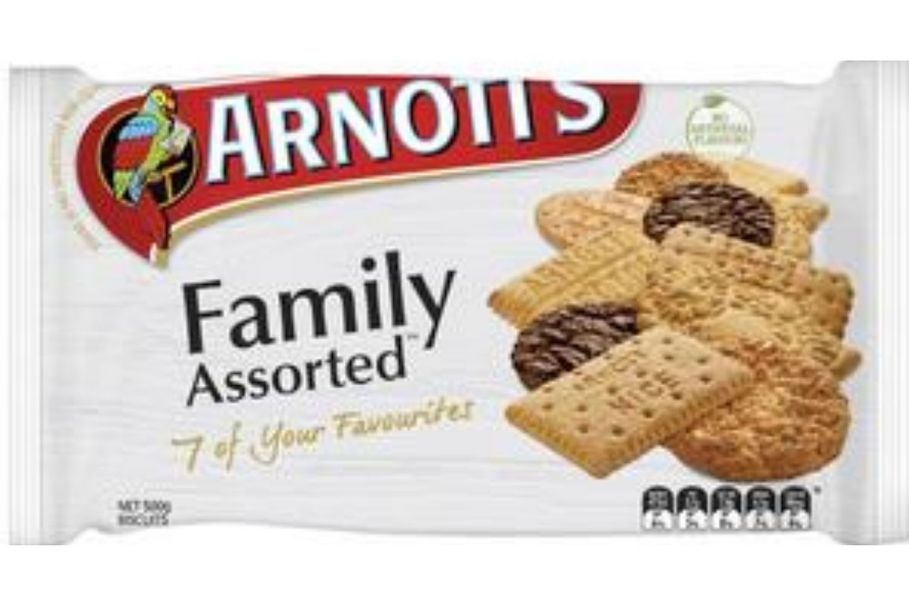 Top Arnott's biscuits revealed