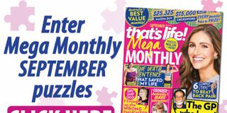 Puzzles entry and winners | That's Life! Magazine