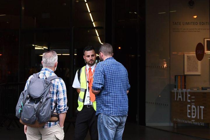 Tate Modern art gallery on 'lockdown' after little boy is 'pushed