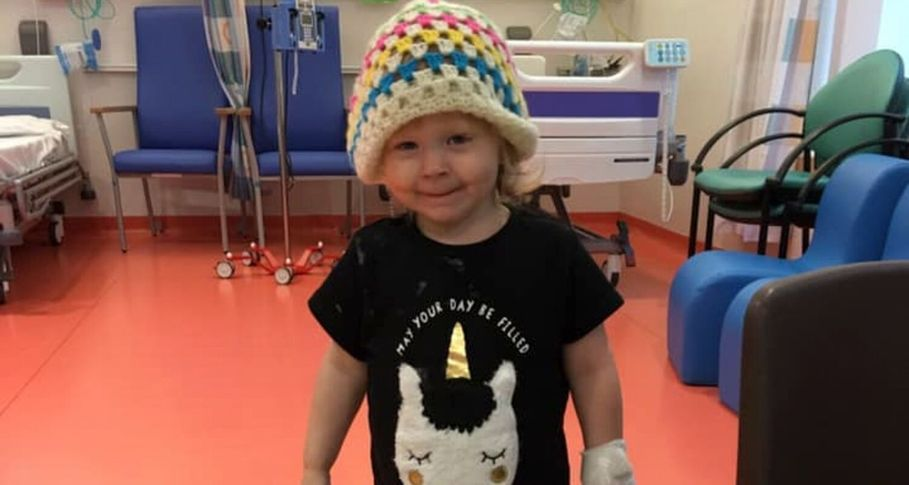 Toddler with cancer has ovary removed