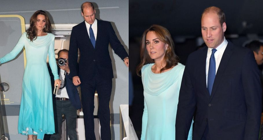 Kate Middleton and Prince William arrive in Pakistan amid security fears