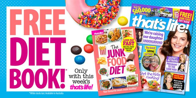 Receive your FREE DIET BOOK with this week's issue