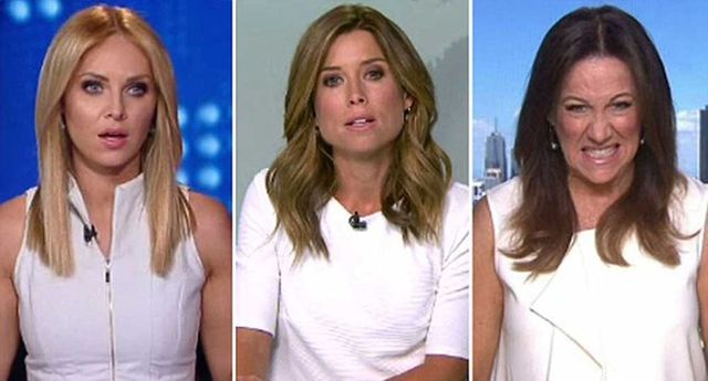 Leaked newsreader wardrobe meltdown prompts hilarious audience response