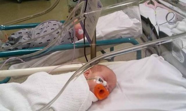 Mum's warning after 6-week old babies admitted to hospital