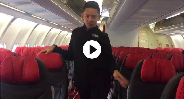 Flight attendant goes viral after recreating Britney Spears' Toxic music video