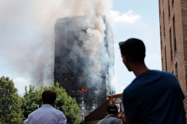Joy as London fire disaster kids found safe