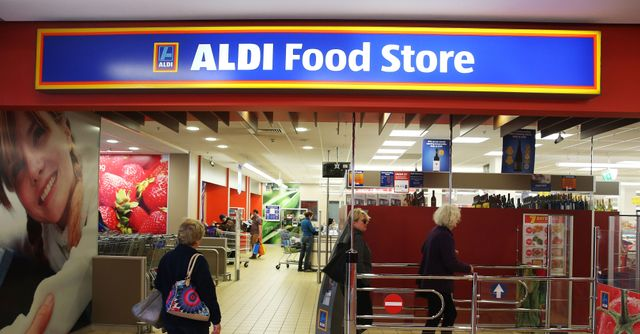 Aldi's 'vegetarian' fridge only has one product - an no one's complaining!