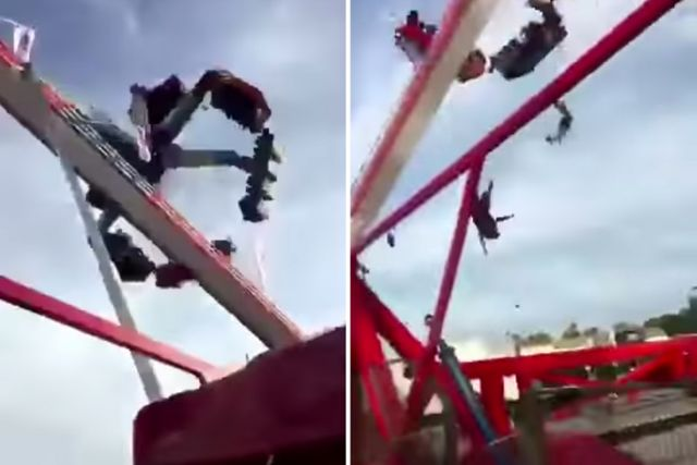 Horror at fun fair as ride fatally malfunctions