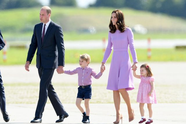 William reveals details about Kate's third pregnancy