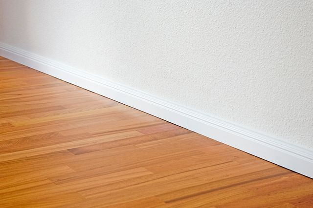 Clever tip for keeping your skirting boards dust free